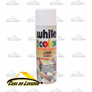 ORBISPRAY TINTA SPRAY BRANCO FOSCO 340ML/190G