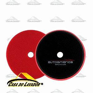 Boina de Espuma Vermelha Autoamerica 7,5'' - Lustro - MS-P150F
