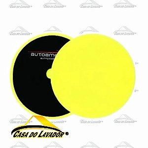 Boina de Espuma Amarela  Autoamerica 7,5'' - Refino - MS-P150P