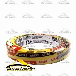 Fita Crepe Pintura Automotiva Amarela Adere A128RA/S 18mmX40mm