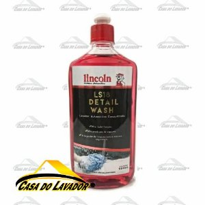 Shampoo Detail Wash Concentrado 1:400 DW LS18 500ml Lincoln