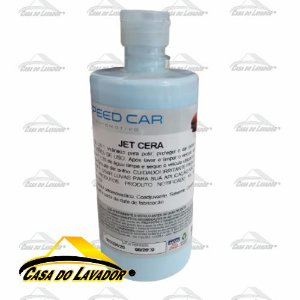 Jet Cera Concentrada  C/carnaúba Speed Car 500ml