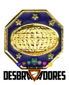 DISTINTIVO CLASSES LIDERANÇA LÍDER - METAL DBV