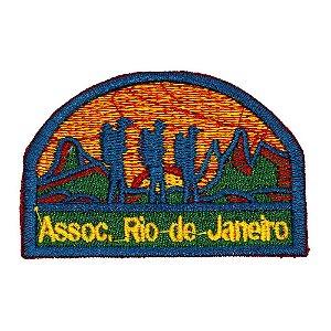 EMBLEMAS DE CAMPO AVENTUREIROS - RIO DE JANEIRO - ASSOCIAÇÃO
