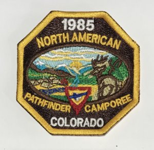 TRUNFO PATHTFINDER CAMPOREE  - NORTH AMERICAN 1985 (Não oficial)