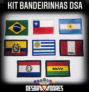 Kit Bandeirinhas DSA (Frete grátis para todo Brasil)