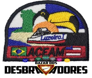 Emblema de Campo antigo ACEAM - 1ª GERAÇÃO (INTERMEDIÁRIO)