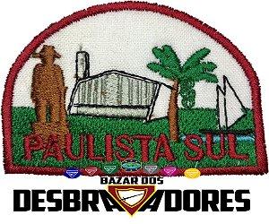 Emblema de Campo Antigo PAULISTA SUL DBV - 1ª GERAÇÃO (INTERMEDIÁRIO)