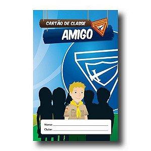 CARTÃO DE CLASSE: AMIGO - Registro