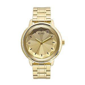 Relógio Feminino Dourado Analogico Euro EUY121E6DC/4D