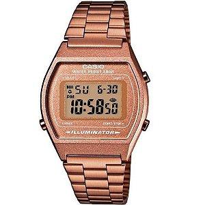 Relógio Casio Vintage Feminino Digital Rose Quadrado + NF