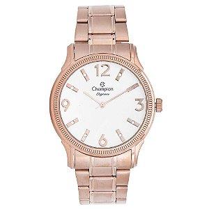 Relógio Feminino Rose Champion Fundo com Detalhes Pedras