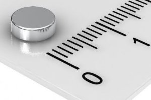 Imã De Neodímio Disco 6mm x 2mm