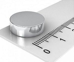 Imã De Neodímio Disco 15mm x 3mm