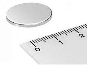 Imã De Neodímio Disco 18mm X 1,5mm
