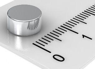 Imã De Neodímio Disco 8mm x 4mm