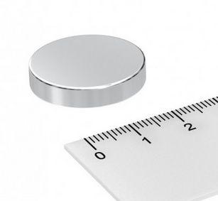 Imã De Neodímio Disco 25mm x 5mm