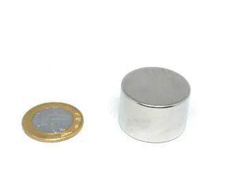 Imã De Neodímio Disco 30mm x 20mm