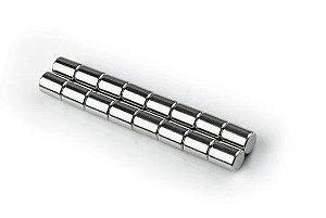 Imã De Neodímio Cilindro 8mm X 10mm