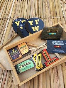 Premium Box Yellow Finger - Recheada