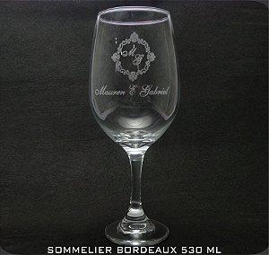 Taças Sommelier Bordeaux Personalizado (cx 24 und)