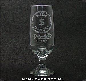 Copo Vidro Hannover Personalizado (cx 12 und)