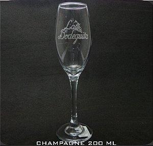 Taça Vidro Selection Champagne Personalizada (cx 24 und)