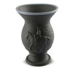 Cuia Chimarrão Tereré Cerâmica 350 ml Grafite Tropeiro