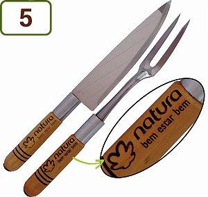 5 Kits Churrasco 2 Peças Personalizados