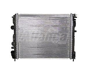 Radiador Clio/Logan/Sandero com ar condicionado até 2013