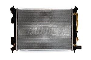 Radiador HB20/HB20S/HB20X flex 1.6 2012 a 2018 e Veloster 1.6 2011 a 2018 (Automático)