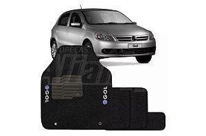 Tapete carpete personalizado Gol G5 2008 2009 2010 2011 2012 (5 pcs)