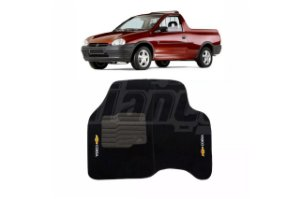 Tapete carpete personalizado Corsa Pick Up (2 pcs)