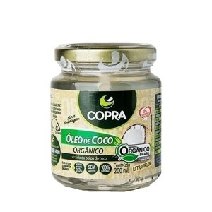Óleo de Coco Orgânico 200ml