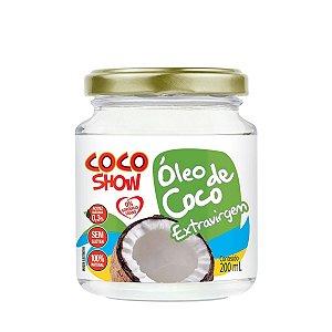 Óleo de Coco Extra Virgem Coco Show 200ml