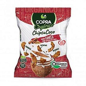 Coco Chips Orgânico Canela 60g