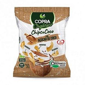 Coco Chips Orgânico Açúcar de Coco 60g