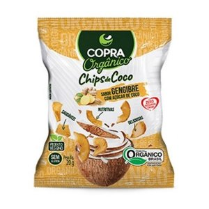 Coco Chips Orgânico Gengibre 60g