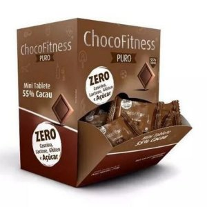 Chocolate Chocofitness 55% Puro Display 50x5g