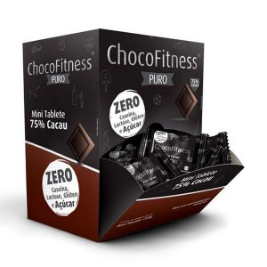 Chocolate Chocofitness 75% Puro Display 50x5g