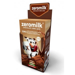 Chocolate Crisp 50% ZeroMilk Display 6x80g