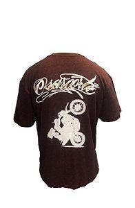 Camiseta Mescla com garupa - Vinho