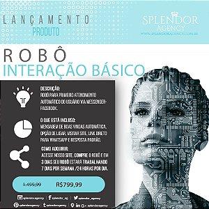 Robô de interação Básico - Atendimento