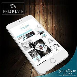 Instagram Puzzle - Arte para Redes Sociais - 12 artes