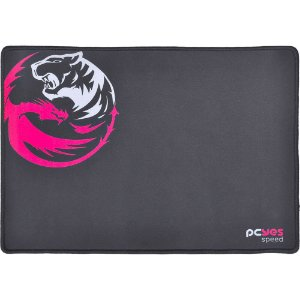 MOUSE PAD GAMER PCYES DASH SPEED PRETO - 355x254x3mm