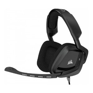HEADSET GAMER CORSAIR VOID STEREO 7.1 CARBONO CA-9011146-NA