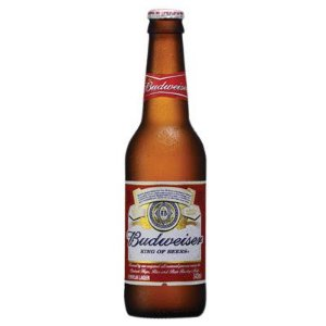 Cerveja Budweiser Long Neck 24x 343ml