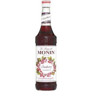 Xarope Monin Cramberry 700ml