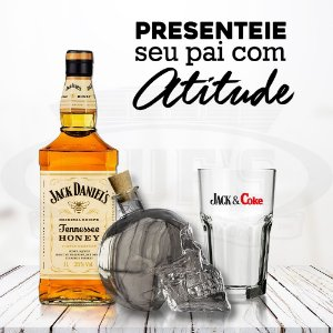 Kit Jack Daniel's Honey Mês dos Pais