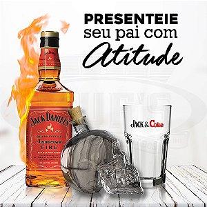 Kit Jack Daniel's Fire Mês dos Pais
